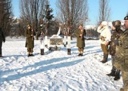 A doni katasztrófa magyar katonái előtt tisztelegtek
