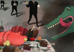 Egy kentaur-nő és egy krokodil-férfi szerelmének története