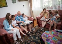 Nagyszülők és unokák egymásra hangolva