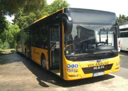 Hat új csuklós busz járja Eger térségét